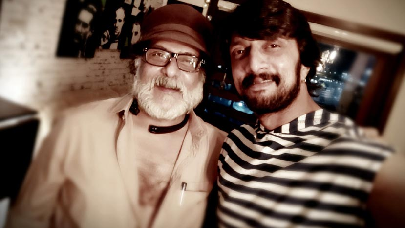 sudeep will never say no to me says ravichadran