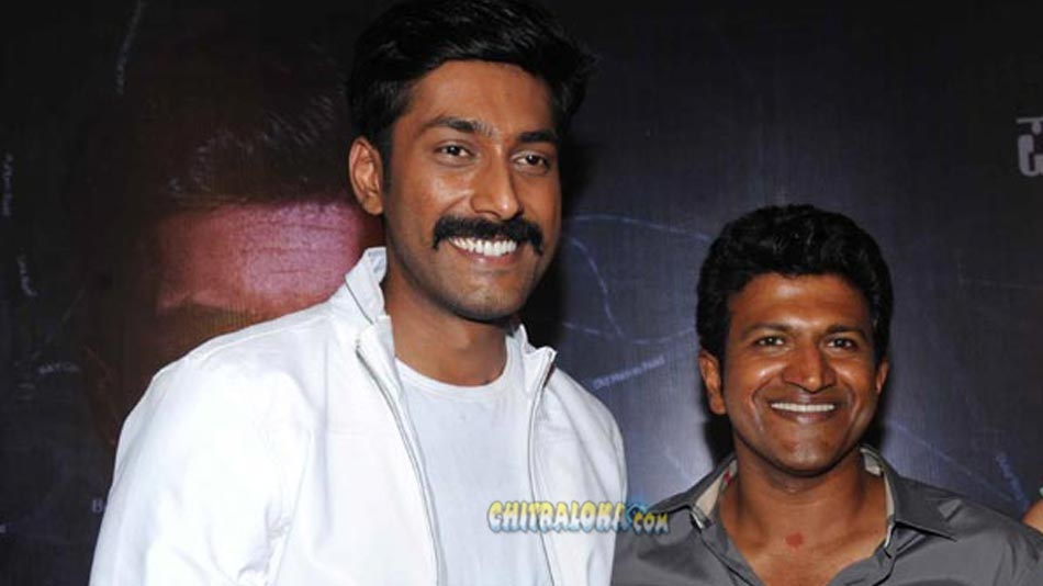 puneeth sings a song for rishi's movie