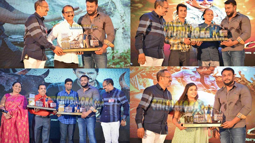 yajamana team felicitates arrists and techinicaians