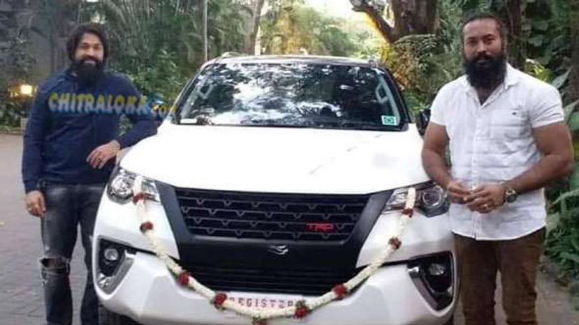 kgf fame garuda buys new car