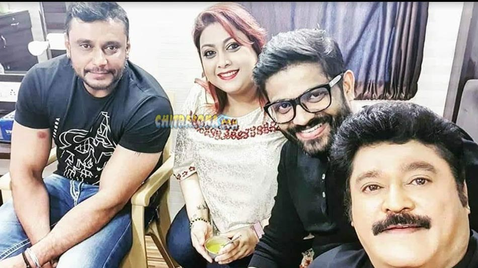 darshan with comedy khiladigalu team