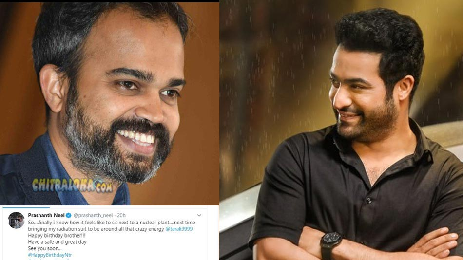 prashanth neel's special birthday wishes to jr ntr