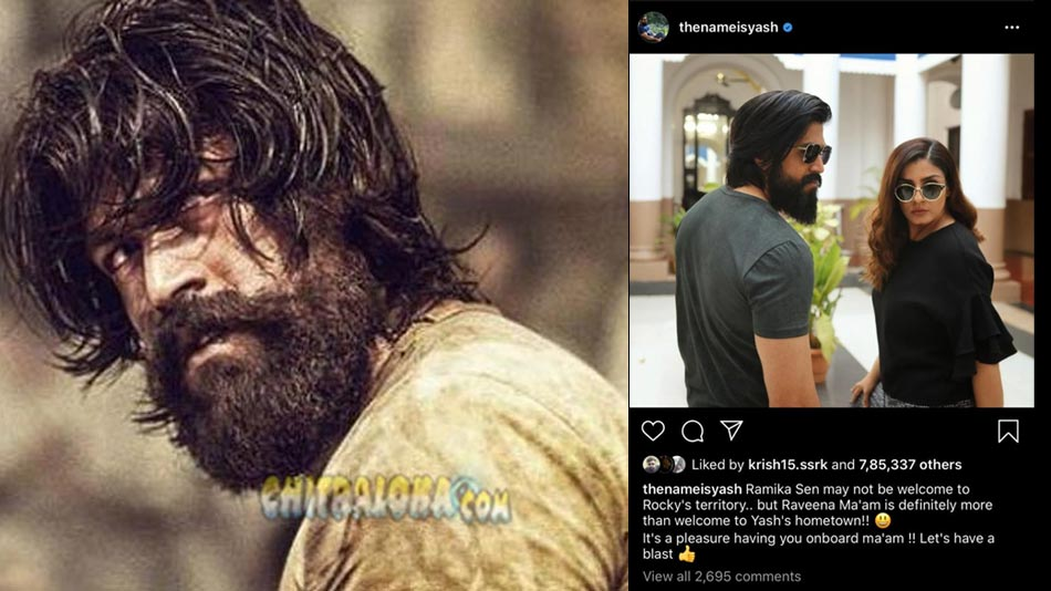 yash reveals kgf chapter 2 secret