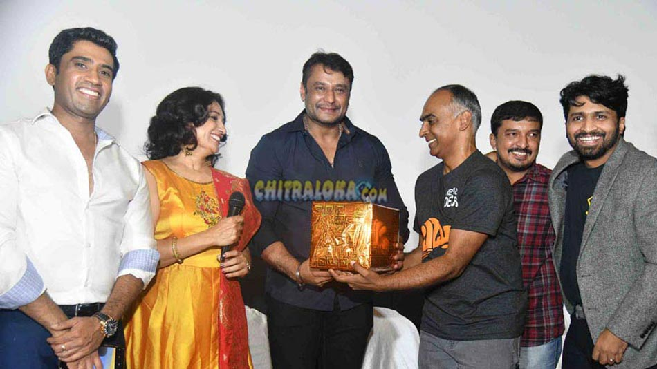 babru teaser launched bu darshan