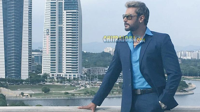 darshan in chakravarthy movie
