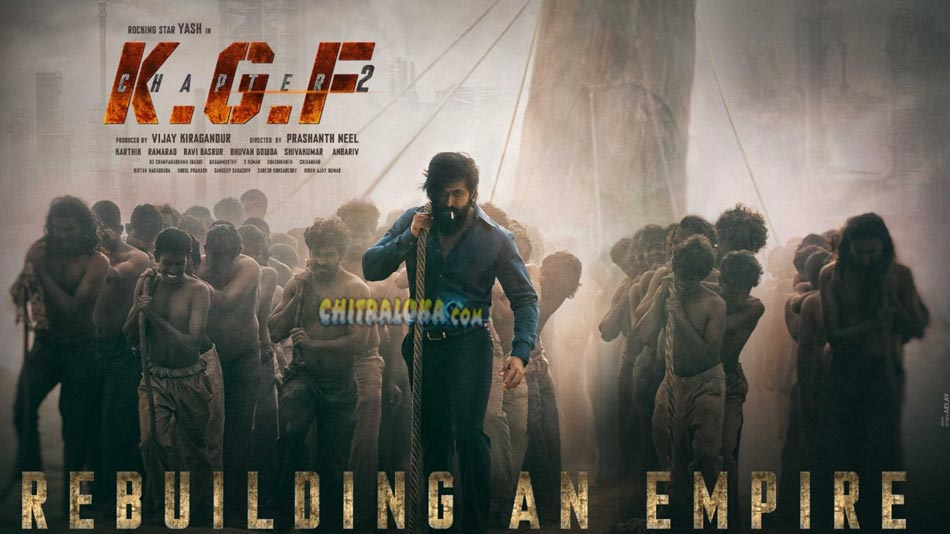 kgf chapter 2 shooting in final stages