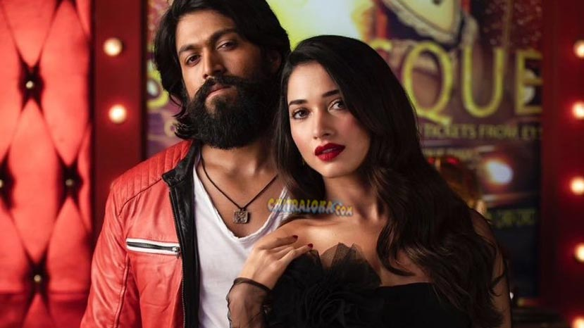 hindi kgf will not have tamannah's jokai