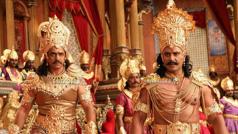kurukshetra making video released