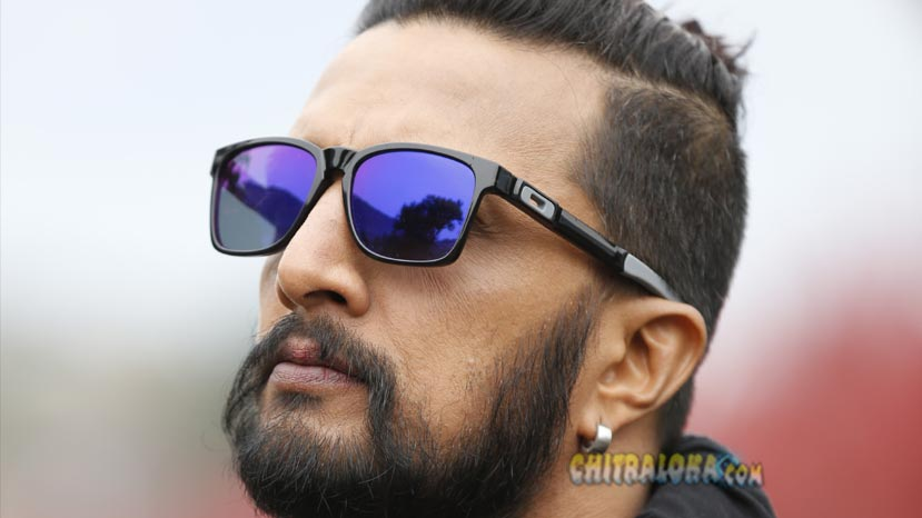 sudeep happy to loose hairstyle